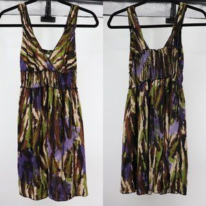 ♡ 3/$20 Xhilaration Camo Elastic Waist Mini Dress
